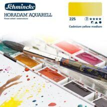 Schmincke Horadam akvarellfesték 3.árkategória 4ml szilke Cadmium yellow medium 225