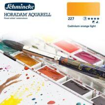 Schmincke Horadam akvarellfesték 3.árkategória 4ml szilke Cadmium orange light 227