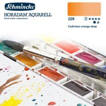 Schmincke Horadam akvarellfesték 3.árkategória 4ml szilke Cadmium orange deep 228