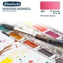 Schmincke Horadam akvarellfesték 3.árkategória 4ml szilke Permanent carmine 353