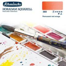 Schmincke Horadam akvarellfesték 3.árkategória 4ml szilke Permanent red orange 360