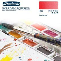 Schmincke Horadam akvarellfesték 3.árkategória 4ml szilke Scarlet red 363