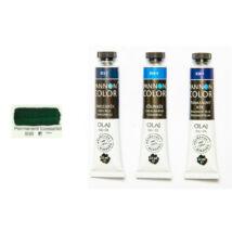 Pannoncolor olajfesték 22ml-es, 838 Permanent tüzeszöld