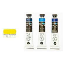 Pannoncolor olajfesték 22ml-es, 851 Nápolyi világossárga