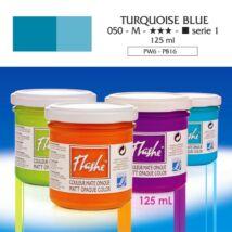 Lefranc&Bourgeois Flashe akrilfesték 1.árkategória 125ml Turquoise blue 050