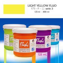Lefranc&Bourgeois Flashe akrilfesték 3.árkategória 125ml Fluo light yellow (fluoreszkáló) 173