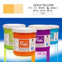 Lefranc&Bourgeois Flashe akrilfesték 1.árkategória 125ml Gold yellow 176
