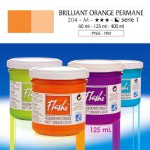 Lefranc&Bourgeois Flashe akrilfesték 1.árkategória 125ml Brilliant orange permanent 204