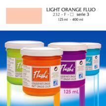 Lefranc&Bourgeois Flashe akrilfesték 3.árkategória 125ml Fluo light orange (fluoreszkáló) 232