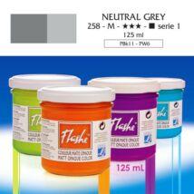 Lefranc&Bourgeois Flashe akrilfesték 1.árkategória 125ml Neutral grey 258