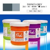 Lefranc&Bourgeois Flashe akrilfesték 1.árkategória 125ml Payne's grey 261