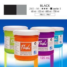 Lefranc&Bourgeois Flashe akrilfesték 1.árkategória 125ml Black 265