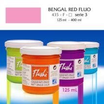 Lefranc&Bourgeois Flashe akrilfesték 3.árkategória 125ml Fluo bengal red (fluoreszkáló) 435