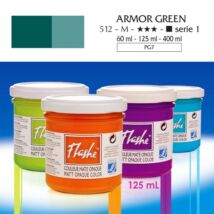 Lefranc&Bourgeois Flashe akrilfesték 1.árkategória 125ml Armor green 512