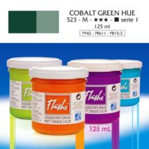 Lefranc&Bourgeois Flashe akrilfesték 1.árkategória 125ml Cobalt green 523