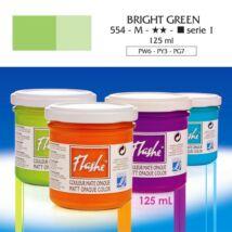 Lefranc&Bourgeois Flashe akrilfesték 1.árkategória 125ml Bright green 554