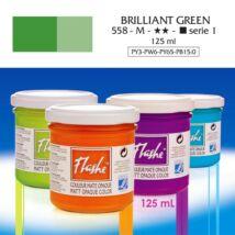Lefranc&Bourgeois Flashe akrilfesték 1.árkategória 125ml Brilliant green 558