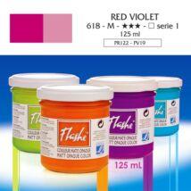 Lefranc&Bourgeois Flashe akrilfesték 1.árkategória 125ml Red violet 618