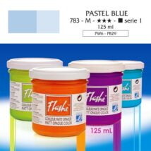 Lefranc&Bourgeois Flashe akrilfesték 1.árkategória 125ml Pastel blue 783