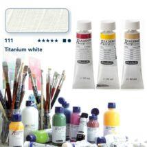 Schmincke Akademie acryl 60ml Titanium white 111