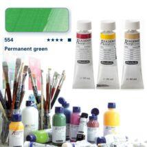 Schmincke Akademie acryl 60ml Permanent green 554
