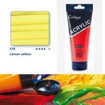 Schmincke College akrilfesték 200ml Lemon yellow 210