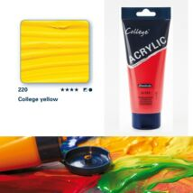 Schmincke College akrilfesték 200ml College yellow 220