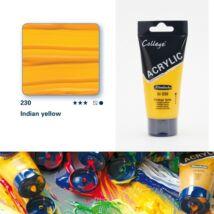 Schmincke College akrilfesték 75ml Indian yellow 230