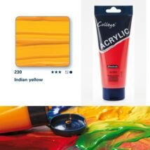 Schmincke College akrilfesték 200ml Indian yellow 230