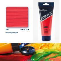Schmincke College akrilfesték 200ml Vermilion red 300