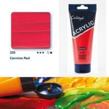 Schmincke College akrilfesték 200ml Carmine red 320