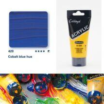 Schmincke College akrilfesték 75ml Cobalt blue hue 420