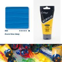 Schmincke College akrilfesték 75ml Azure blue deep 450
