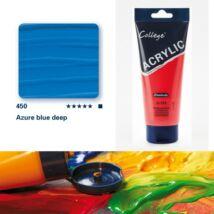 Schmincke College akrilfesték 200ml Azure blue deep 450