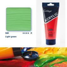 Schmincke College akrilfesték 200ml Light green 500