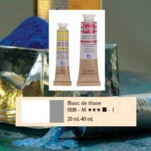 Lefranc&Bourgeois Artist Oil extra finom olajfesték 1.árkategória 20ml Titanium white