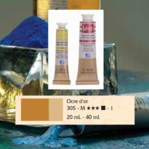 Lefranc&Bourgeois Artist Oil extra finom olajfesték 1.árkategória 20ml Golden ochre