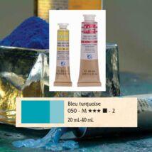 Lefranc&Bourgeois Artist Oil extra finom olajfesték 2.árkategória 20ml Turquoise blue  050