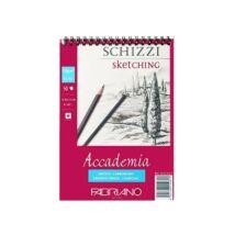 Fabriano Accademia rajzkarton 50 lap/blokk 120g/nm 14,8x21cm spirálos