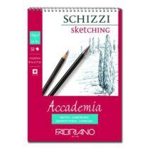 Fabriano Accademia rajzkarton 50 lap/blokk 120g/nm 21x29,7cm spirálos