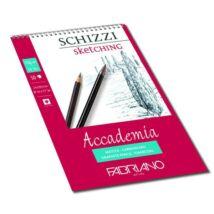Fabriano Accademia rajzkarton 50 lap/blokk 120g/nm 29,7x42cm spirálos