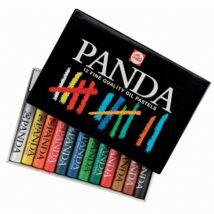 Panda 12 db-os olajpasztell készlet kartondobozban