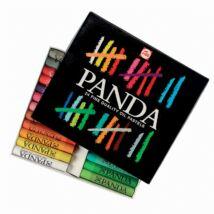 Panda 24 db-os olajpasztell készlet kartondobozban