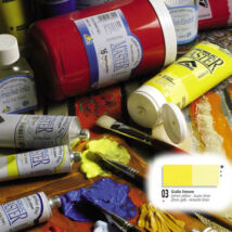 Ferrario Acrilic Master akrilfesték 60ml Lemon yellow 03