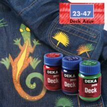 Deka PermDeck textilfesték sötét anyagra 25ml azúr