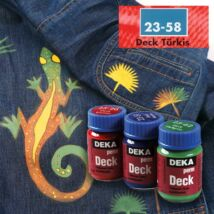 Deka PermDeck textilfesték sötét anyagra 25ml türkiz