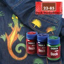 Deka PermDeck textilfesték sötét anyagra 25ml sötétbarna