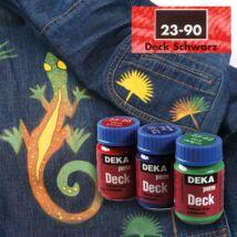 Deka PermDeck textilfesték sötét anyagra 25ml fekete