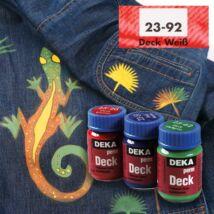 Deka PermDeck textilfesték sötét anyagra 25ml fehér