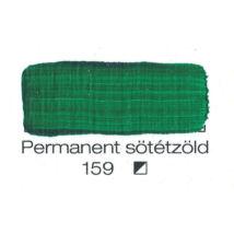 Pannoncolor akril 38 ml-es permanent sötétzöld 159